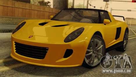 GTA 5 Coil Voltic v2 SA Mobile für GTA San Andreas