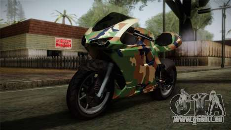GTA 5 Bati MIX pour GTA San Andreas