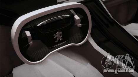 Peugeot Onyx pour GTA San Andreas vue arrière