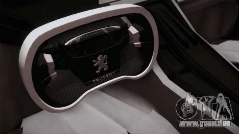 Peugeot Onyx für GTA San Andreas Rückansicht