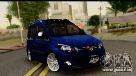 Volkswagen Caddy v1 für GTA San Andreas