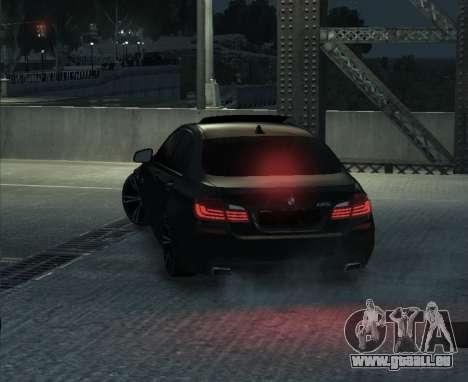 BMW M5 F10 2014 pour GTA 4 est un droit