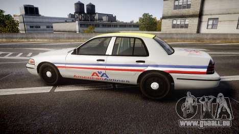 Ford Crown Victoria 2007 American Airlines für GTA 4 linke Ansicht