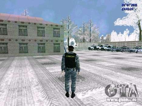 Die OMON-Kämpfer für GTA San Andreas her Screenshot