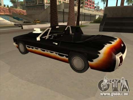 Diablo Hengst из GTA 3 für GTA San Andreas Rückansicht