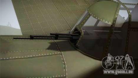 ИЛ-10 Chinese Air Force für GTA San Andreas rechten Ansicht