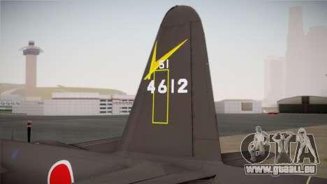 P2V-7 Lockheed Neptune RCAF für GTA San Andreas zurück linke Ansicht