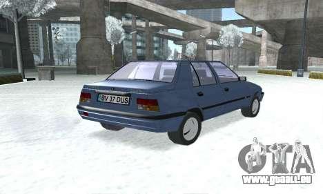 Dacia Super Nova pour GTA San Andreas laissé vue