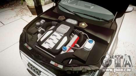 Audi A8 L 4.2 FSI quattro pour GTA 4 Vue arrière