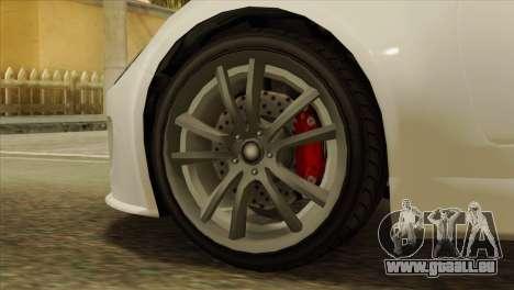 GTA 5 Coil Voltic v2 IVF pour GTA San Andreas sur la vue arrière gauche