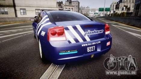 Dodge Charger 2010 Police [ELS] für GTA 4 hinten links Ansicht