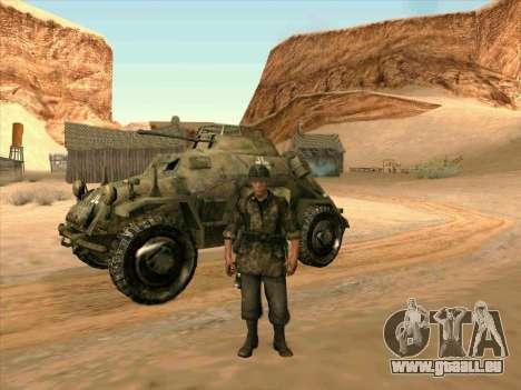 SdKfz.222 pour GTA San Andreas