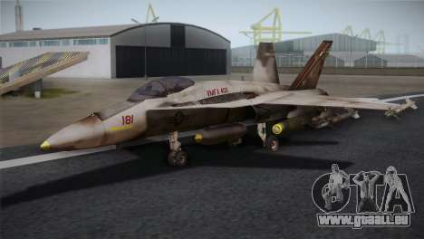 F-18 Hornet (Battlefield 2) pour GTA San Andreas