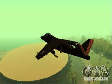 McDonnell Douglas AV-8B Harrier II Beta für GTA San Andreas Rückansicht
