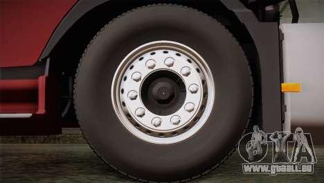 Volvo FH 420 für GTA San Andreas zurück linke Ansicht