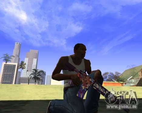 Skins Weapon pack CS:GO für GTA San Andreas fünften Screenshot