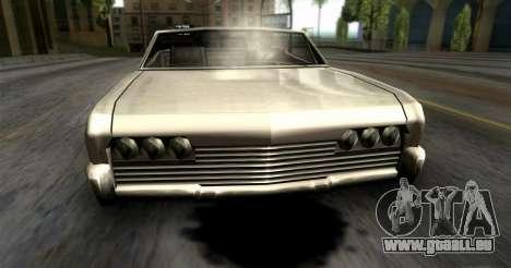 Fuites d'huile pour GTA San Andreas troisième écran