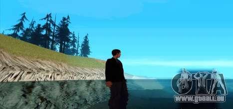 Marcher sur l'eau pour GTA San Andreas deuxième écran