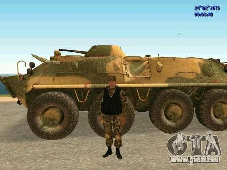 Pfeile Miliz DND für GTA San Andreas sechsten Screenshot
