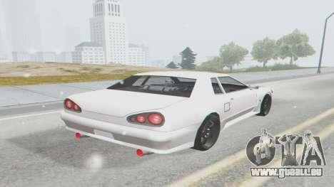 Elegy Facelift S15 pour GTA San Andreas laissé vue