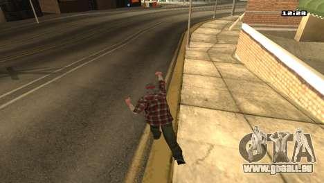 Gemischte Kampfkünste für GTA San Andreas