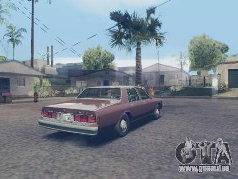 Chevrolet Caprice 1987 pour GTA San Andreas laissé vue