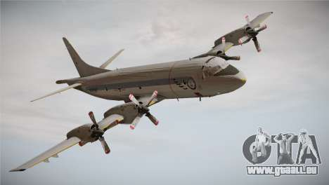 German Navy P-3C Orion MFG 3 50th Anniversary pour GTA San Andreas sur la vue arrière gauche