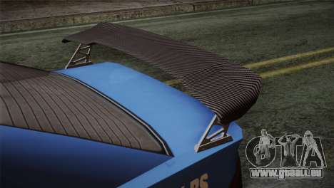 GTA 5 Karin Sultan IVF für GTA San Andreas Rückansicht