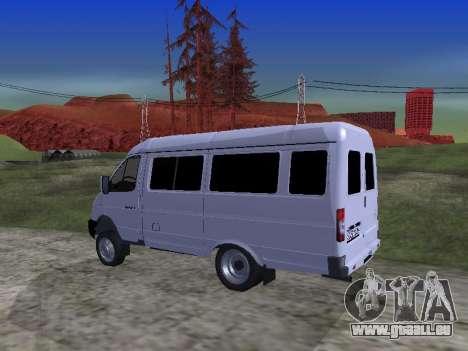 GAZ 2705 pour GTA San Andreas vue de côté