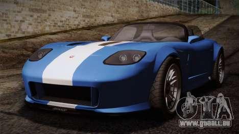 GTA 5 Invetero Coquette v2 pour GTA San Andreas