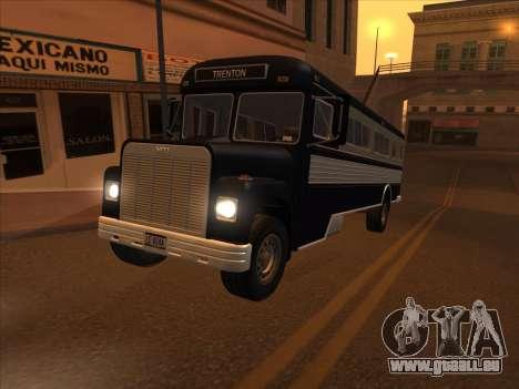Bus из de GTA 3 pour GTA San Andreas vue intérieure