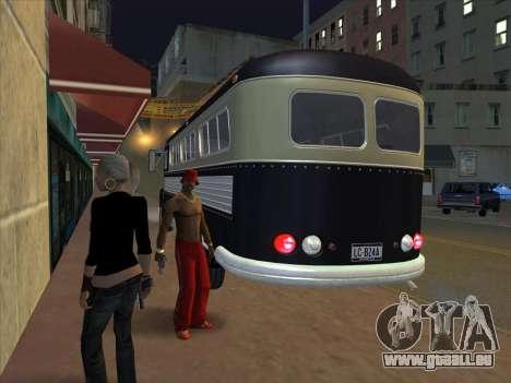 Bus из GTA 3 für GTA San Andreas Rückansicht