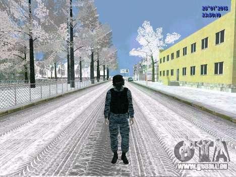 Die OMON-Kämpfer für GTA San Andreas