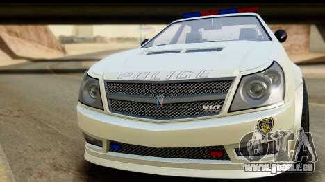 EFLC TBoGT Albany Police Stinger pour GTA San Andreas sur la vue arrière gauche