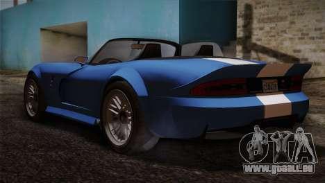 GTA 5 Invetero Coquette v2 pour GTA San Andreas laissé vue