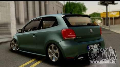 Volkswagen Polo GTI für GTA San Andreas linke Ansicht