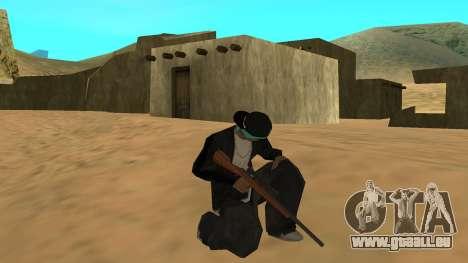 Standard HD Weapon Pack pour GTA San Andreas cinquième écran