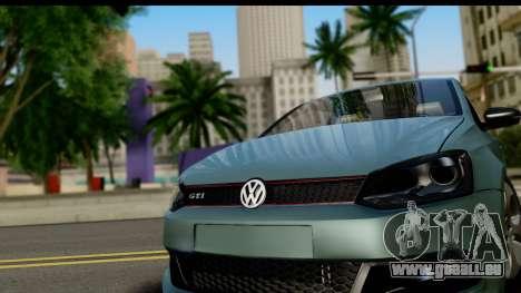 Volkswagen Polo GTI für GTA San Andreas zurück linke Ansicht