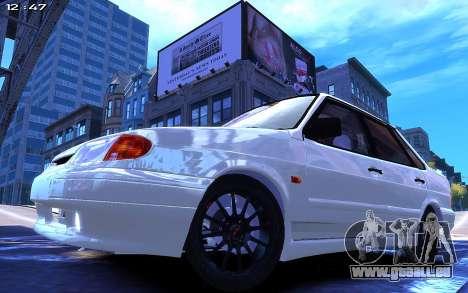Lada 2115 pour GTA 4 Vue arrière de la gauche