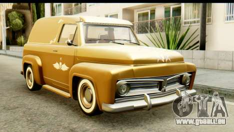EFLC TLaD Vapid Slamvan pour GTA San Andreas