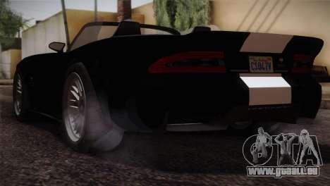 GTA 5 Invetero Coquette v2 IVF pour GTA San Andreas laissé vue