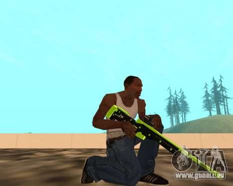 Sharks Weapon Pack pour GTA San Andreas deuxième écran