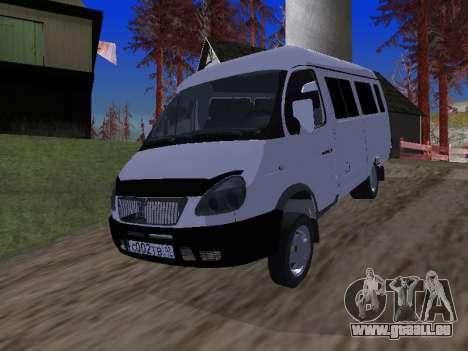 GAZ 2705 für GTA San Andreas