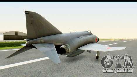 F-4EJ Mitsubishi Heavy Industries für GTA San Andreas linke Ansicht