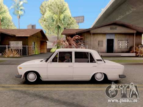 VAZ 2106 Classic für GTA San Andreas zurück linke Ansicht