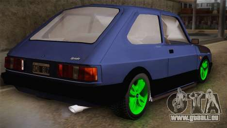 Fiat 147 Tuning pour GTA San Andreas laissé vue