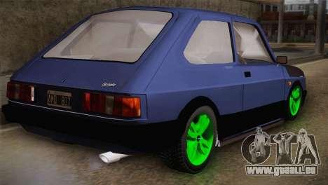 Fiat 147 Tuning für GTA San Andreas linke Ansicht