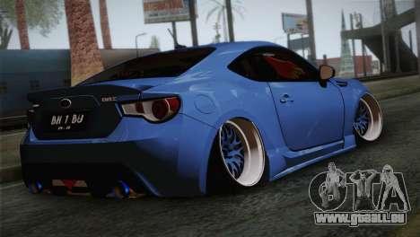 Subaru BRZ für GTA San Andreas linke Ansicht