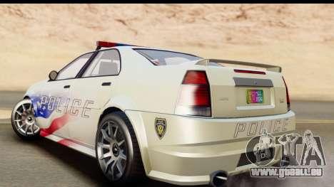 EFLC TBoGT Albany Police Stinger für GTA San Andreas linke Ansicht