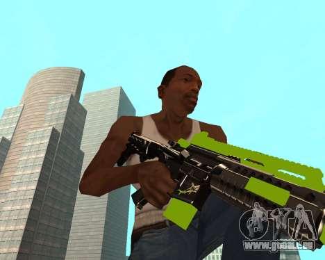 Sharks Weapon Pack pour GTA San Andreas troisième écran